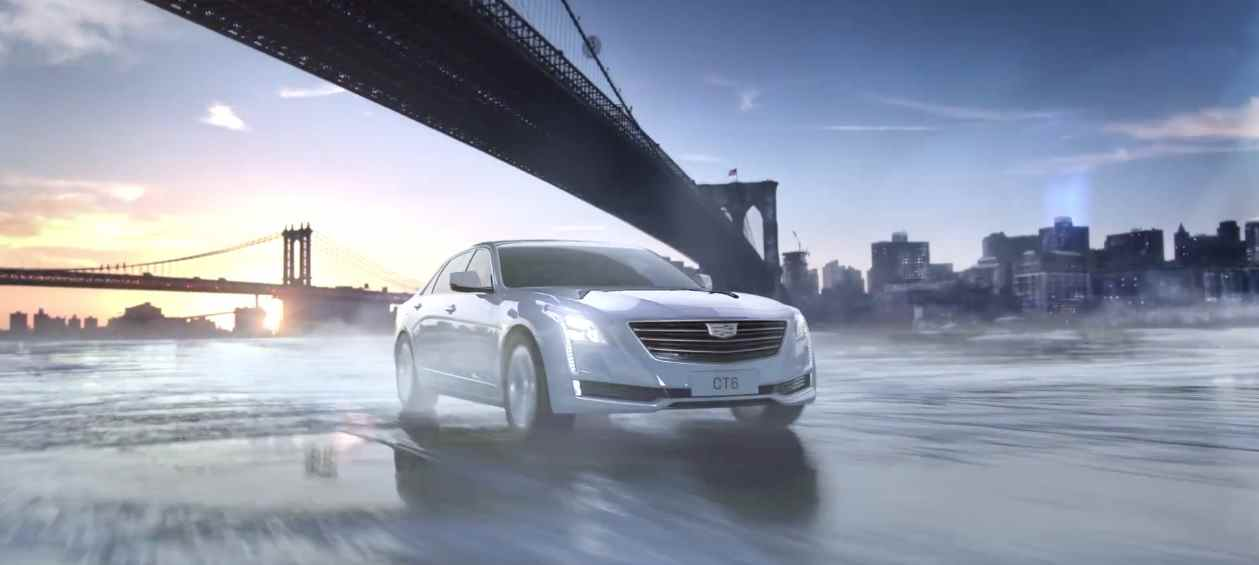 Музыка из рекламы Cadillac CT6 - Freeze