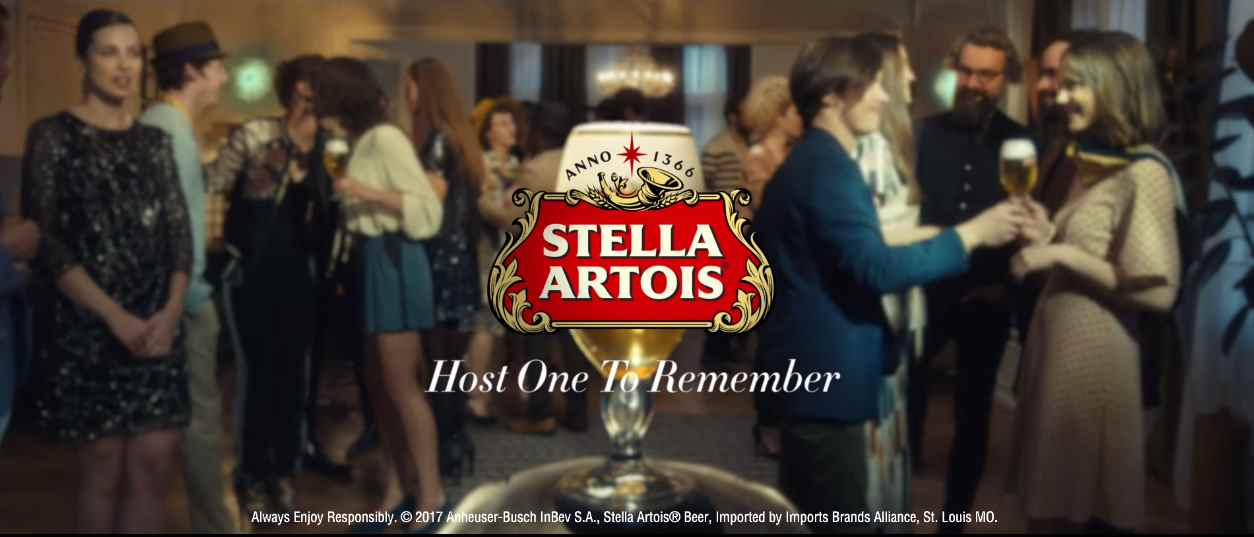 Музыка из рекламы Stella Artois - Party Trick