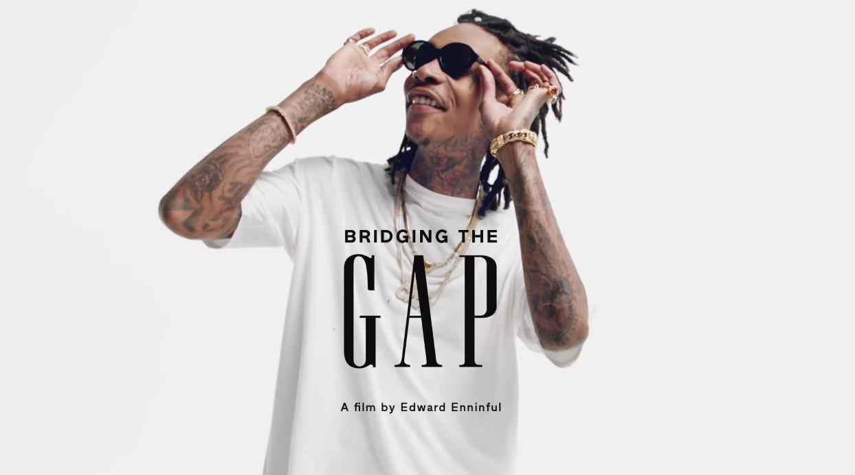 Музыка из рекламы Gap - Bridging the Gap (Wiz Khalifa, Priyanka Chopra, Jasmine Sanders)