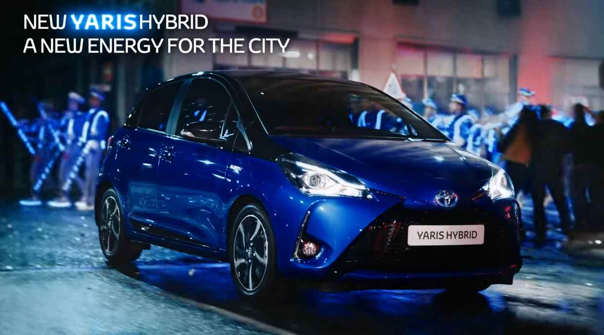 Музыка из рекламы Toyota Yaris - A New Energy For The City