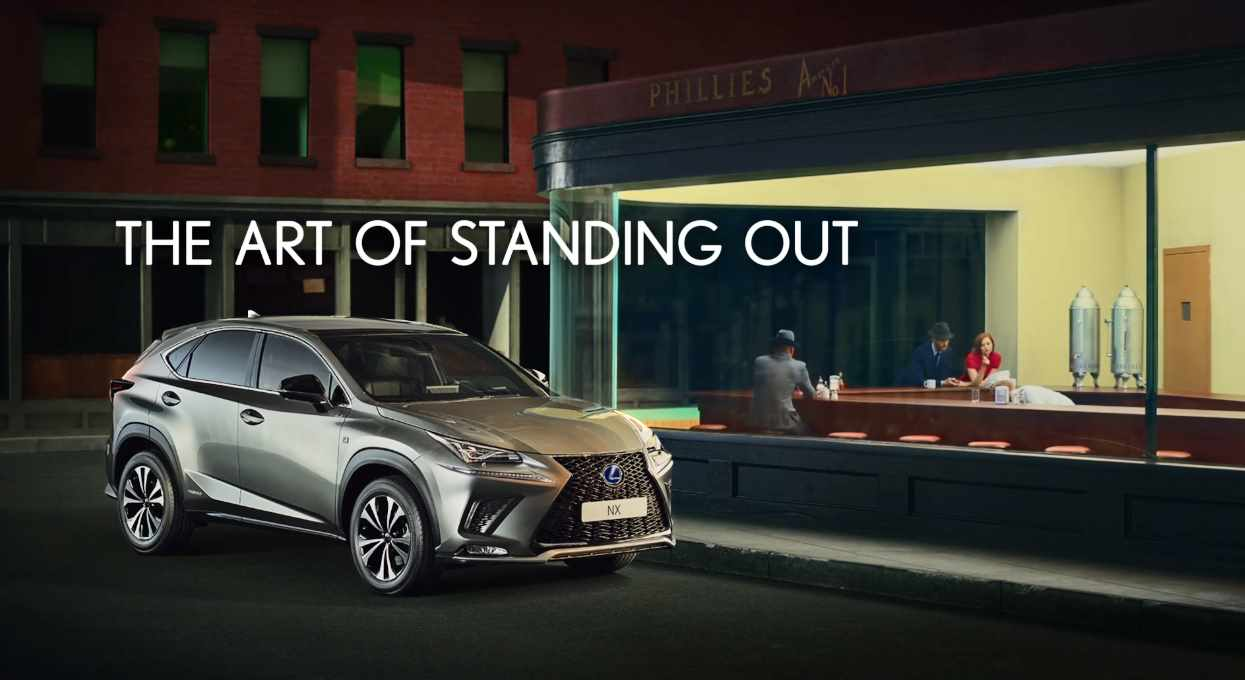 Музыка из рекламы Lexus NX - The Art Of Standing Out