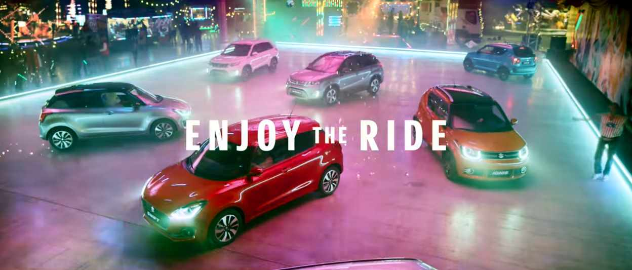 Музыка из рекламы Suzuki - Enjoy The Ride