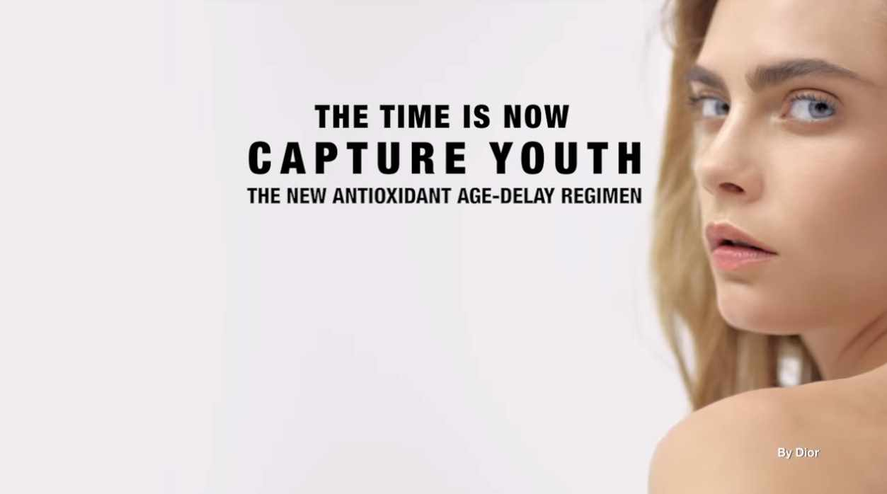 Музыка из рекламы Dior Capture Youth - The time is now! (Cara Delevingne)