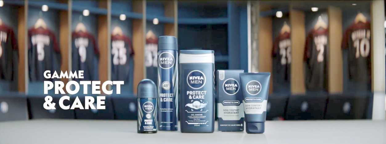 Музыка из рекламы Nivea - Gamme Protect & Care NIVEA MEN (PSG)
