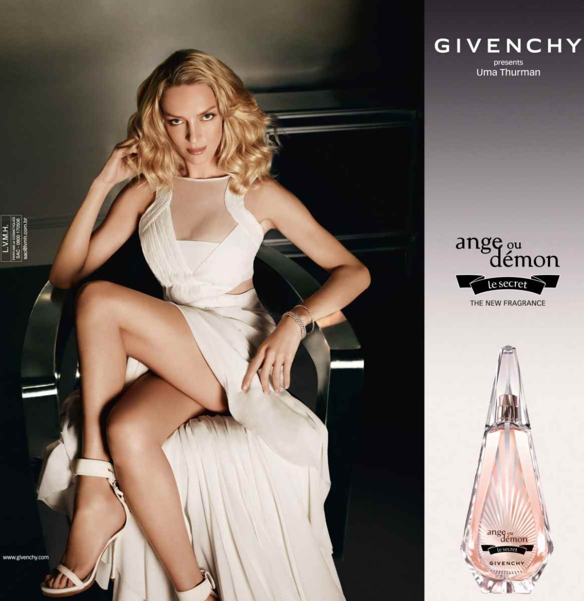 Музыка из рекламы Givenchy - Ange ou Demon Le Secret (Uma Thurman)