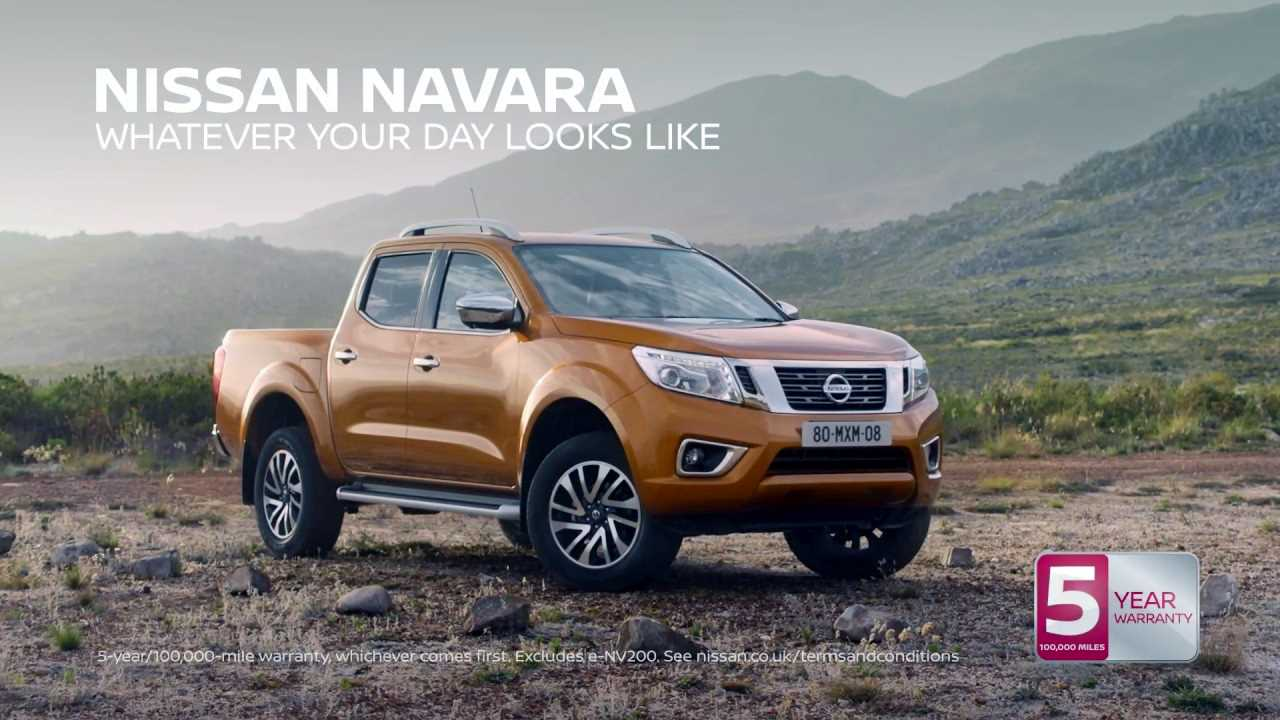 Музыка из рекламы Nissan Navara - With a five-year warranty