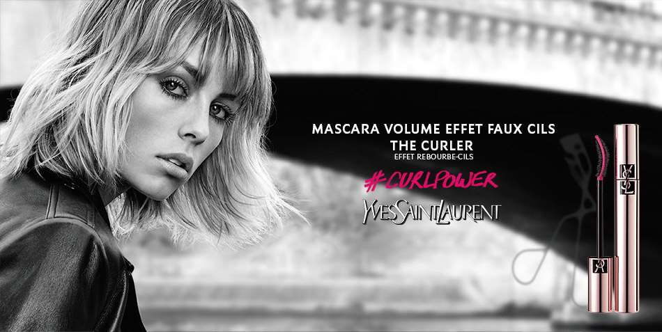 Музыка из рекламы Yves Saint Laurent - Mascara Volume Effet Faux Cils The Curler