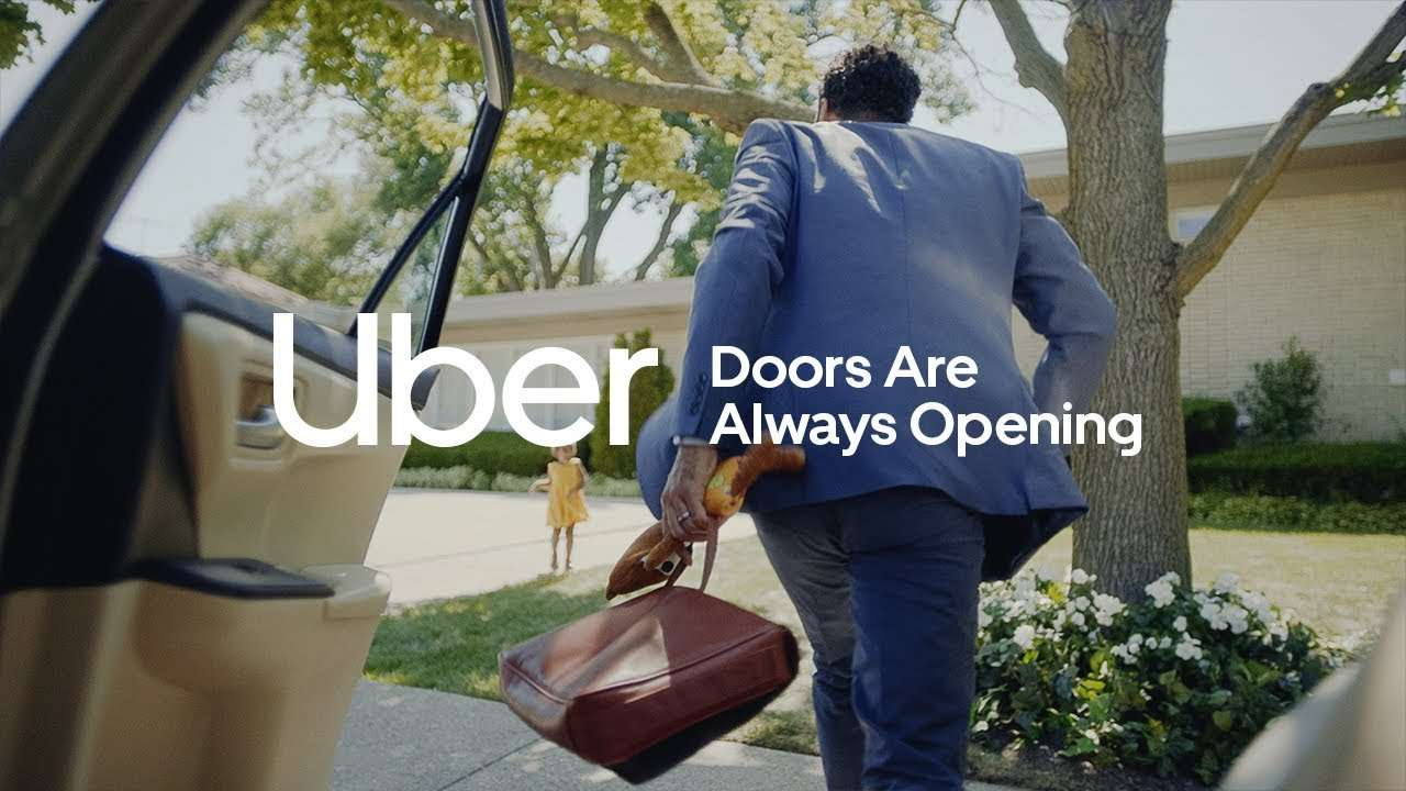 Музыка из рекламы Uber - Doors Are Always Opening