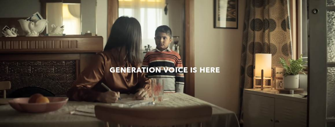 Музыка из рекламы Spark - Generation Voice is here