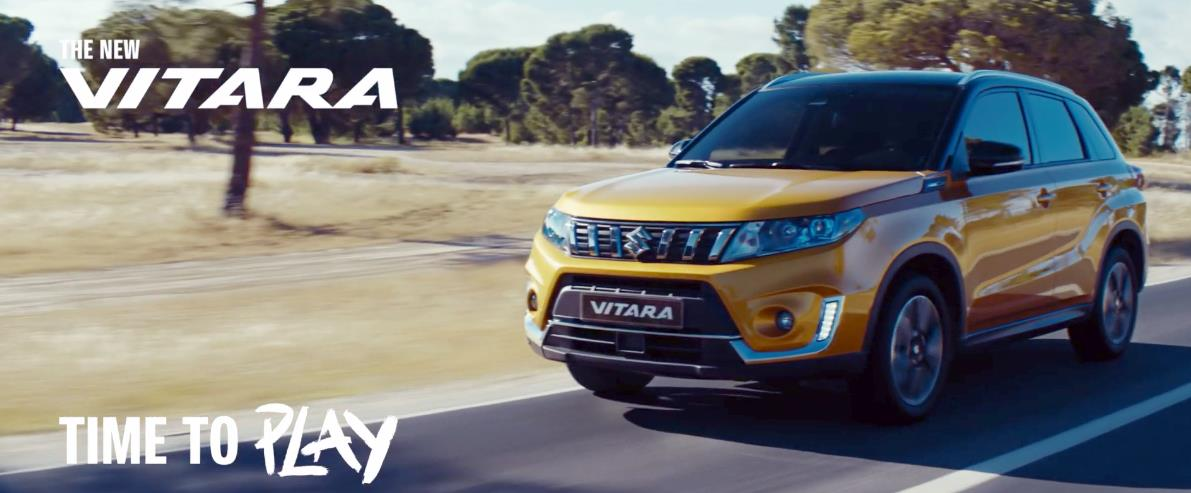 Музыка из рекламы Suzuki Vitara - Time to Play