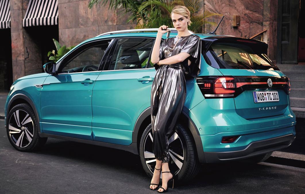 Музыка из рекламы Volkswagen T-Cross - I am more than one thing (Cara Delevingne)
