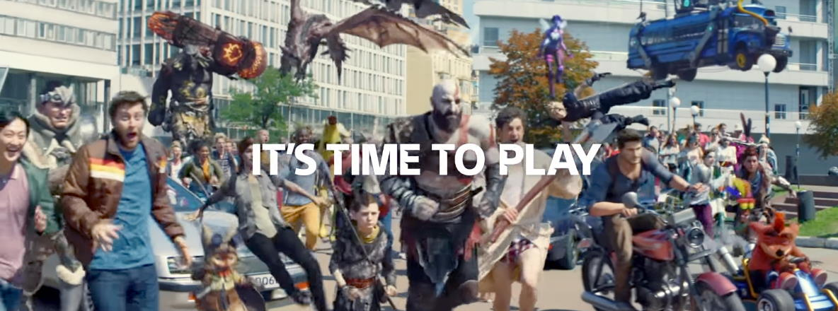 Музыка из рекламы PS4 - It's Time to Play