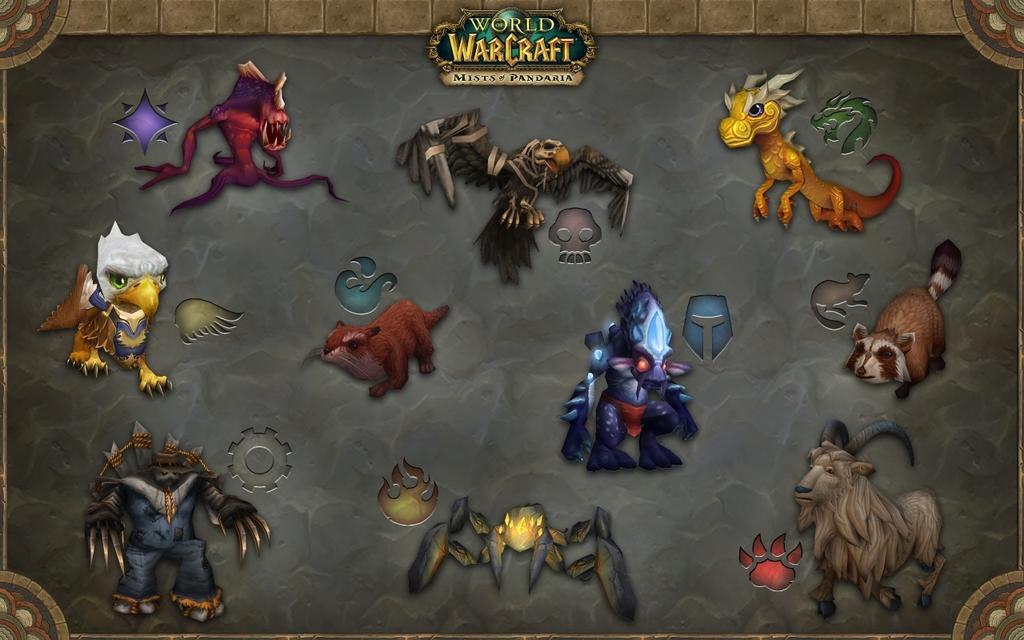 Питомцы в World of Warcraft