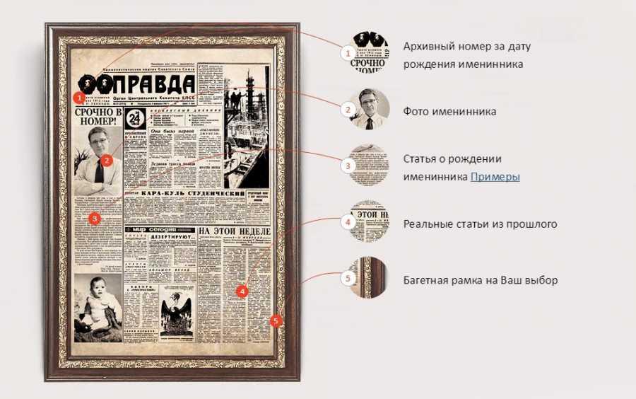 отличие поздравление в форме газеты правды монеты давно раскуплены